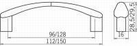 12955 - úchytka Alu efekt