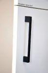 14293 - Úchytka kovová 192mm / černý mat 12