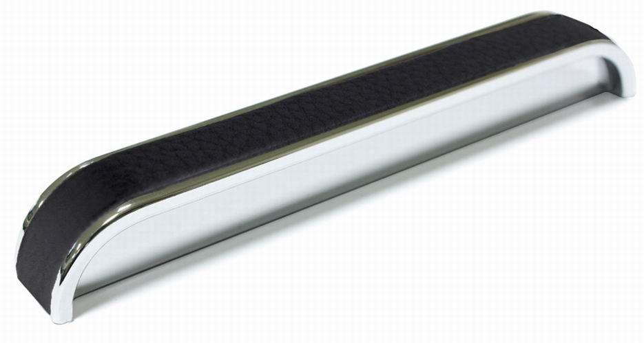 14511 - plastová úchytka 128mm / chrom lesk