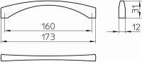 14800 - Úchytka swarovski 12