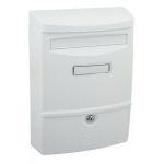 40455 - Poštovní schránka ABS-2 BÍLÁ 62