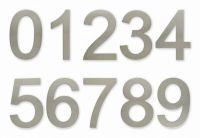 """C100s  Číslice 100 mm - """"1"""" - NEREZ samolepící"""