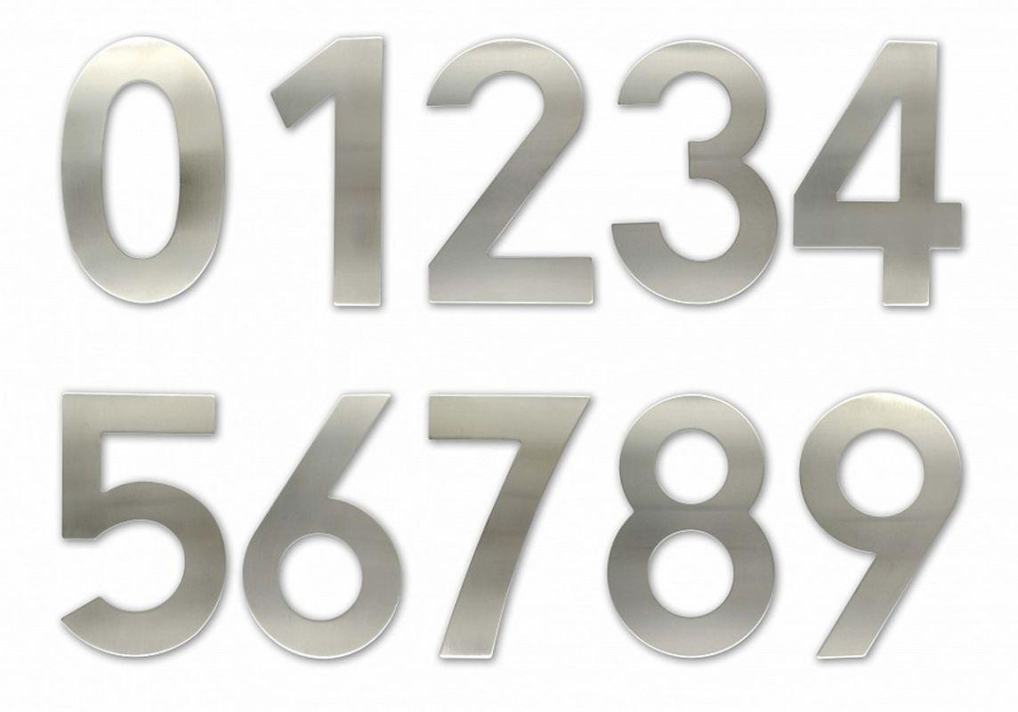 """C150 Číslice 150 mm - """"0"""" - NEREZ 62"""
