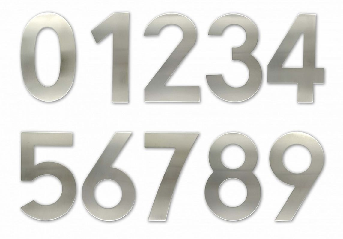 """C150 Číslice 150 mm - """"4"""" - NEREZ 62"""