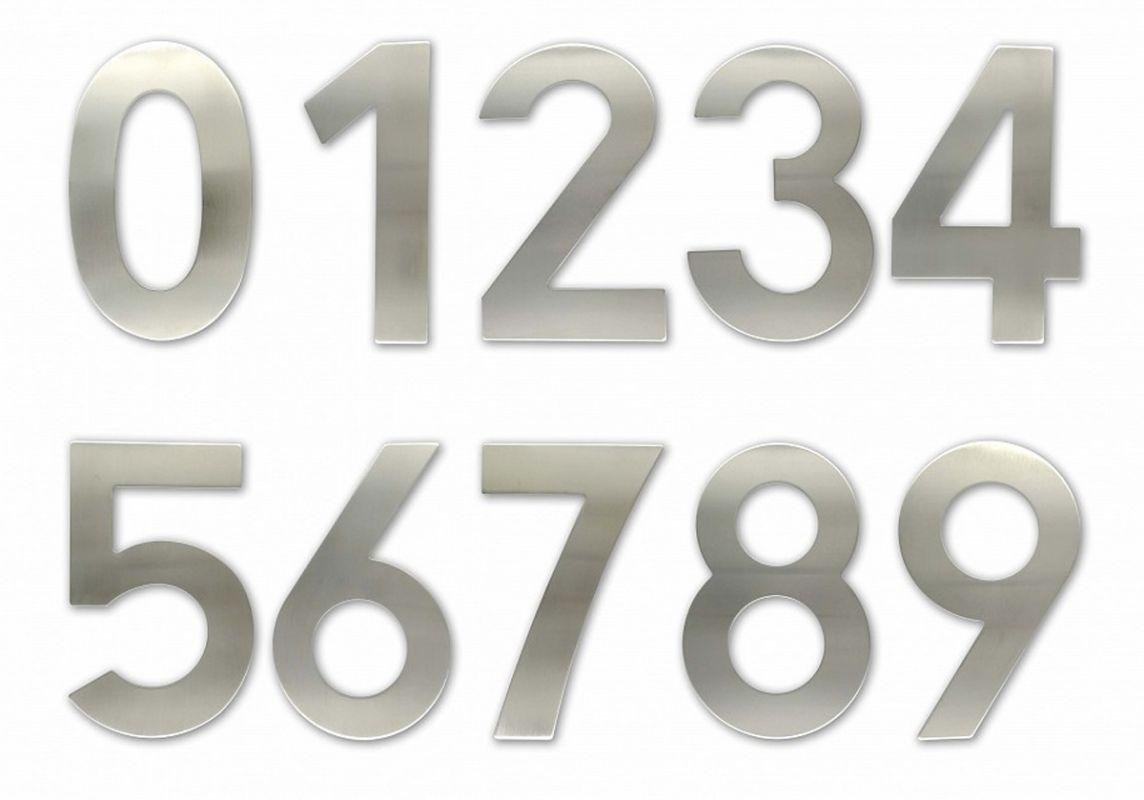 """C150 Číslice 150 mm - """"6"""" - NEREZ 62"""
