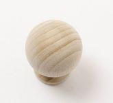48000 knopka dřevěná 34mm / přírodní