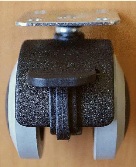 60055 - Kolečko ROL-N 40 PU, pásek, plotýnka+brzda 62