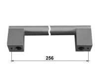 63494 - PALOMA úchytka 256mm broušený nikl 62