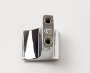 770310 - Knopka kov rozteč 16mm / lesklý chrom