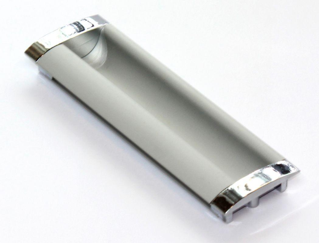 770355 - úchyt úchytka zápustná 96mm / chrom+AL