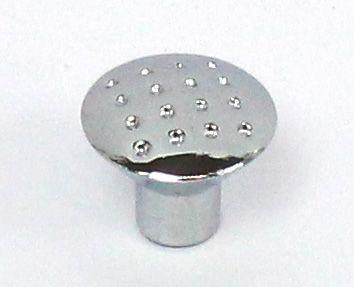 81033 - knopka 28mm tečky/chrom