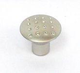 81034 - knopka 28mm tečky/sat.nikl