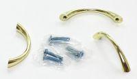 91417- úchytka 64mm zlatá