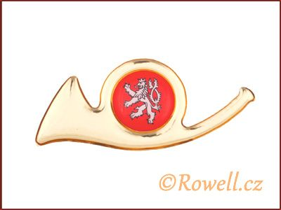 ZPM Znak pošta malý-zlatý rowell
