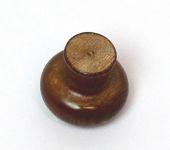 47003 úchytka dřevo borovice hnědá 35x32 mm