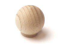 47018 dřevěná úchytka buk brouš. přír.35x36 mm