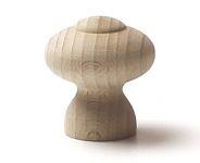 48005 dřevěná knopka pr. 34mm / přírodní