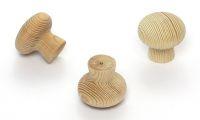 55816 Knopka 34,5mm borovice přírodní