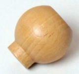 88005 - KD31 knopka dřevo / natur lak