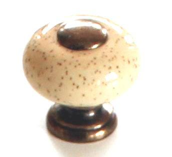 91023 - Knopka 26mm,/ porcelán tečky