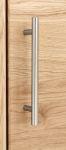 91404 - hrazda 128mm/broušený nikl