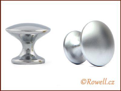 K30 Knopka 30mm - stříbrná