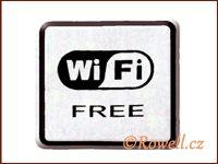 NO cedulka stříbr.  'Wi-Fi' / DOPRODEJ