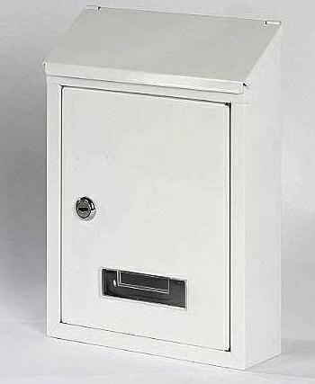 40482 - Poštovní schránka CT3 BÍLÁ zadní vhoz 62