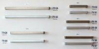 770024 - úchytka rozteč 256mm / Matný broušený n