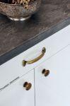 12671 - Rustikální úchytka 96mm / starostříbro