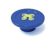 12792 - Knopka plastová KNOFLÍK 58mm / modrá
