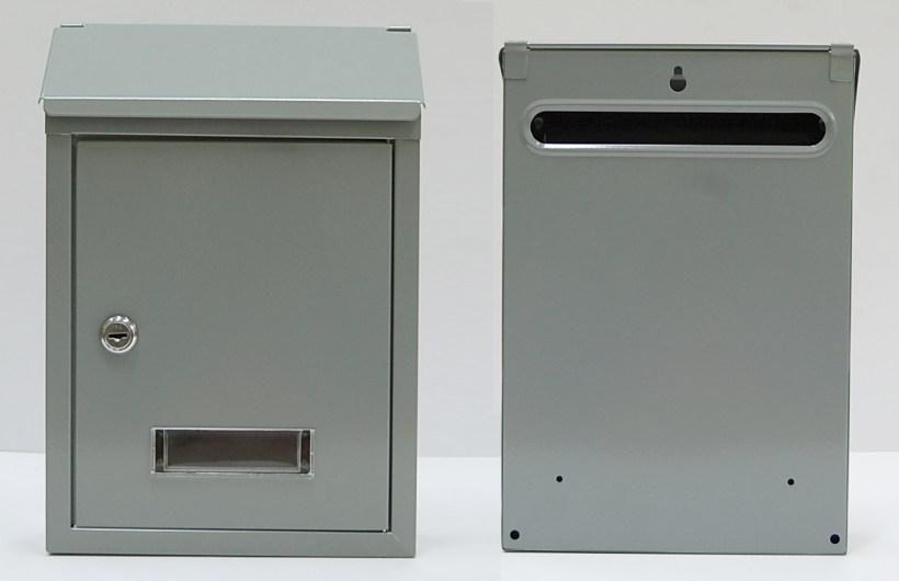 40478 - Poštovní schránka CT3 nerez 62