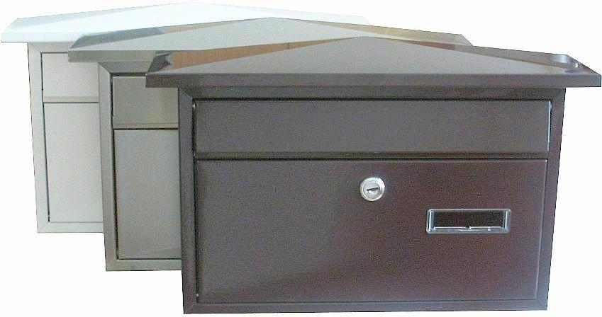 40491 - Poštovní schránka KT-01 HNĚDÁ 62
