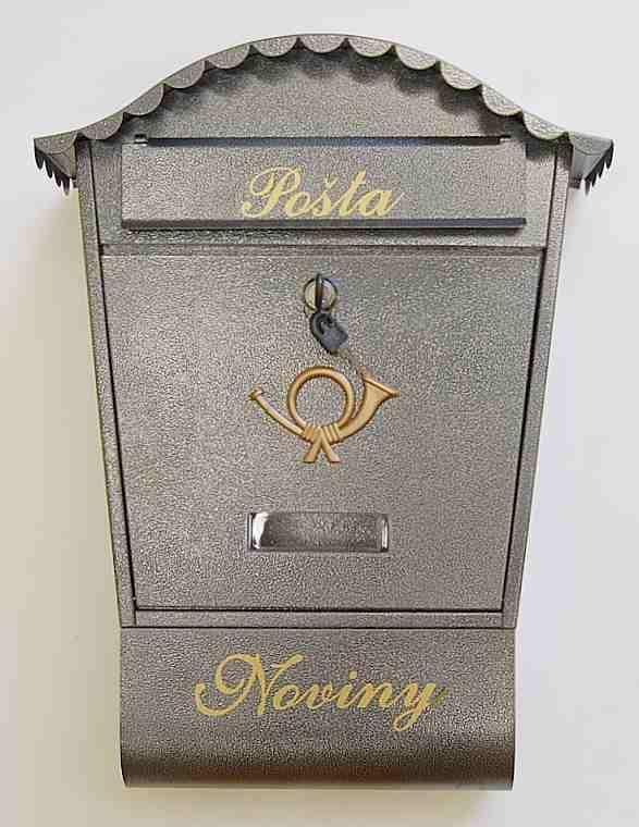 40581 - Poštovní schránka ADAM - Ant.stříbro 62