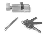 81049 - vložka s koulí,26/36, stříbrná