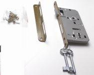 81052 - zámek zadlab.+plech, 72/50, na dozický klíč